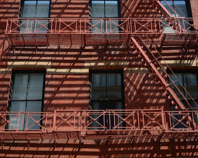 Full Frame Shot Of Brown Residential Building