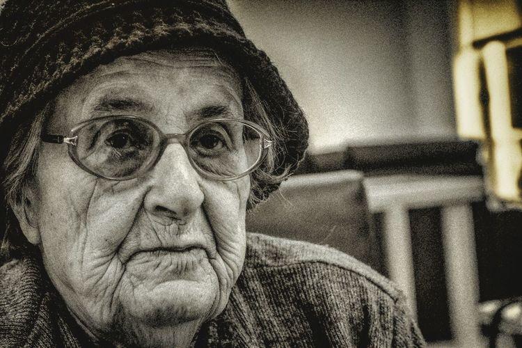 Close-up Indoors  Double Exposure Day EyeEmNewHere Grandma