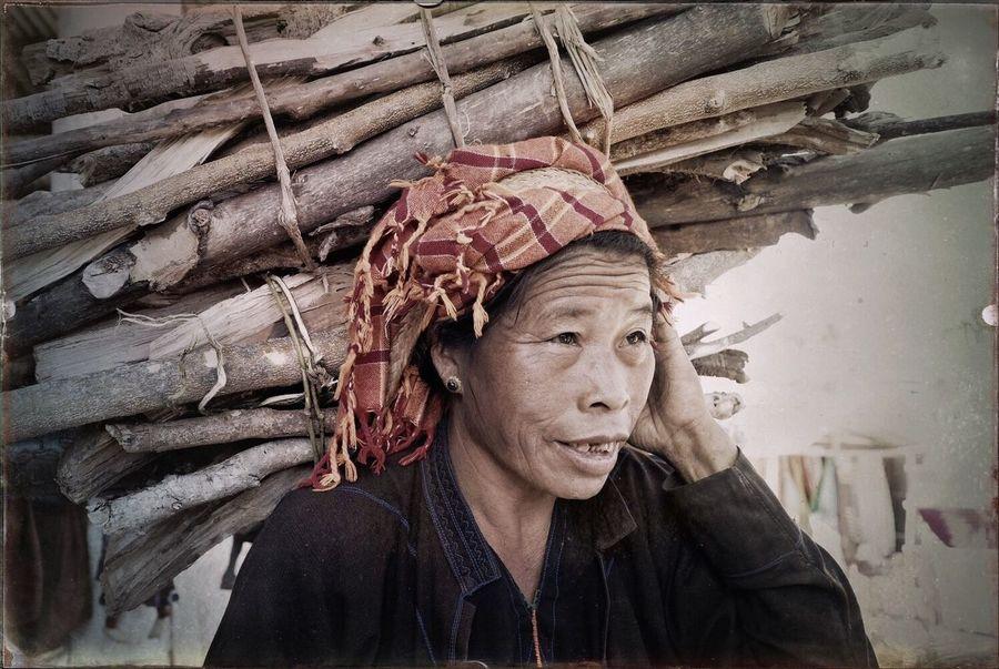 Countyside woman, Lake Inle, Myanmar People Travel