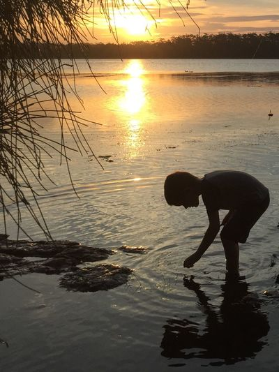 Sunset Erowal Bay My Handsome Son