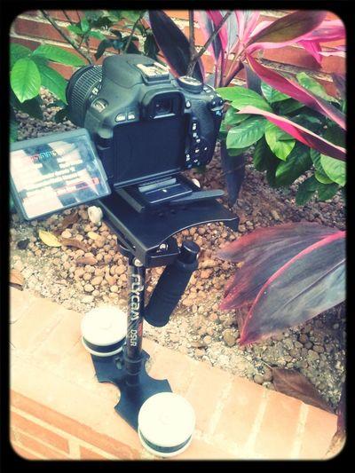 Steadycam FlyCamNano DSLR Canon Practicando...