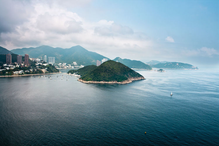 Architecture Beauty In Nature Building Exterior City Day Hong Kong Island Hong Kong Island Back Side Mountain Nature Nautical Vessel No People Outdoors Scenics Sea Sky Tranquil Scene Tranquility Water The Great Outdoors - 2017 EyeEm Awards