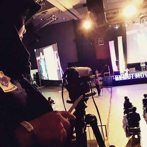 Crew in action Televisinet Indonettv INDONESIA Syuting Event di Sabuga Bandung Bandungjuara