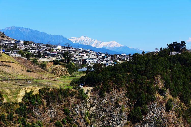 傈僳山寨 Nujia Mountain Mountain Range No People Nature Beauty In Nature Day Outdoors