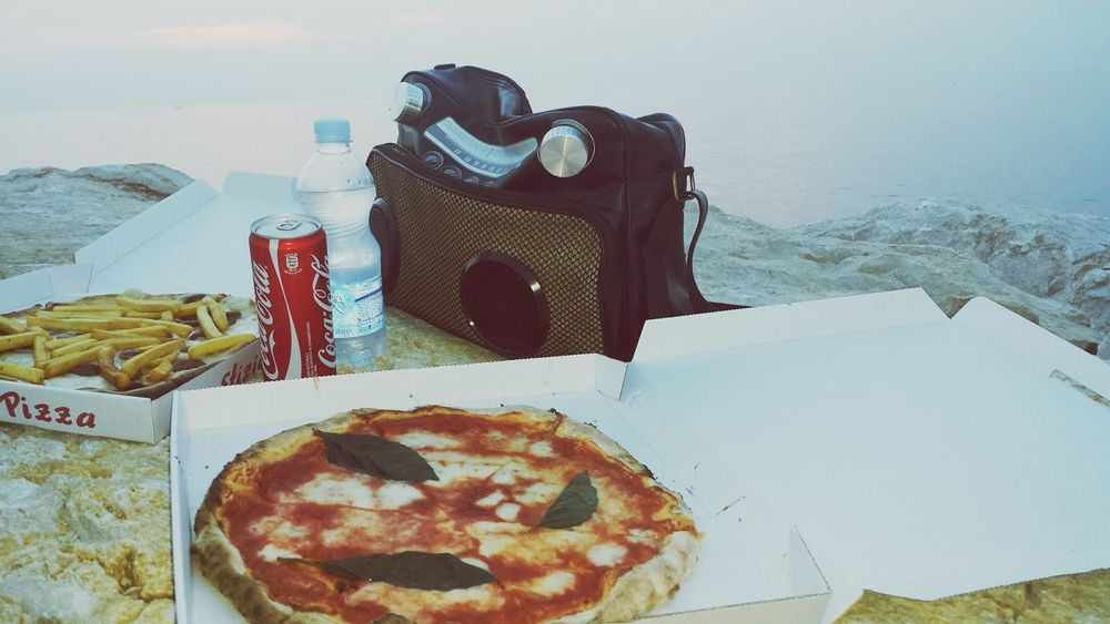 Pizza Pizza Time Summertime Pizza Vera Pizza Eating Pizza Agropoli Summer2015 Sea Scogli Music