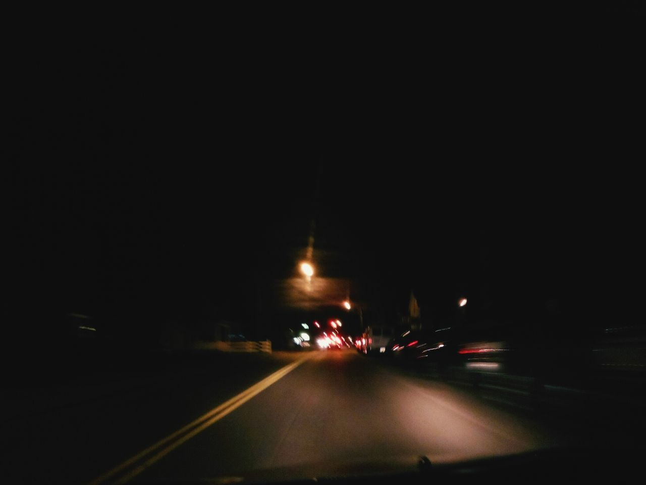 illuminated, night, transportation, mode of transport, blurred motion, speed, road, car, land vehicle, the way forward, travel, motion, no people, outdoors, city
