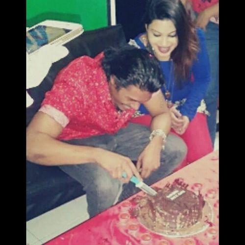 Happy birthday love ??????? Cake Birthday Chocolatebavarianicecream ADesigns bestoffriends family muchluv