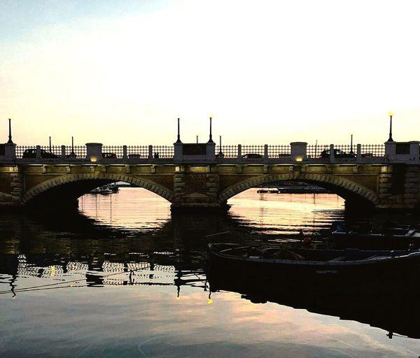 Good Morning Mycity Sun Sea Cloud Boat Horizon Bridge Sunset Tagsforlike Fun Love Paradise Sky