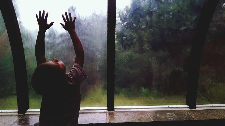 Rain under the