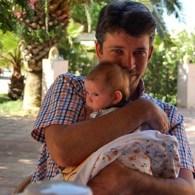 Me and my daughter in vacation on Mallorca Finca Son Estrany Nakieken Blog