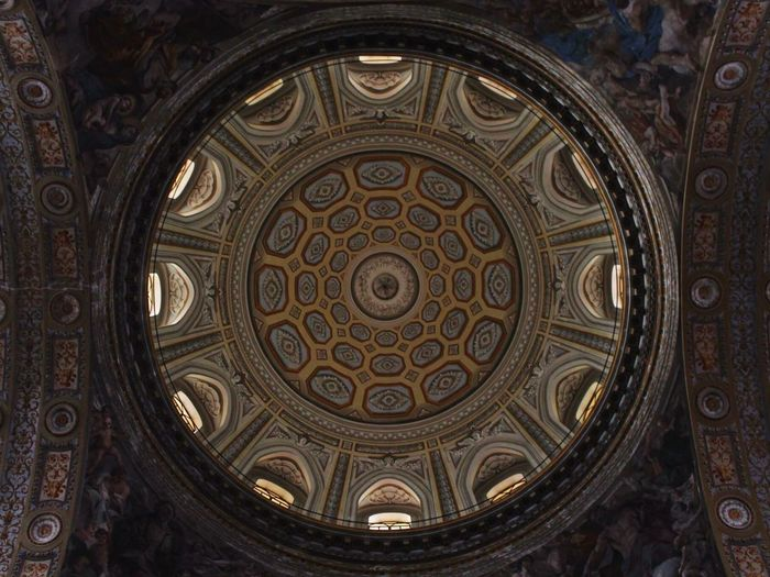 Architecture Perfection Circle Beautiful Geometry Church Cupola Dome Art Neaples Napoli Italy Perspective Enjoying Life Loveit Perfezione Photography Canonphotography Reflex