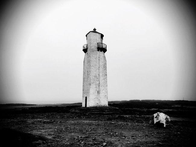 Lighthouse Architecture Blackandwhite