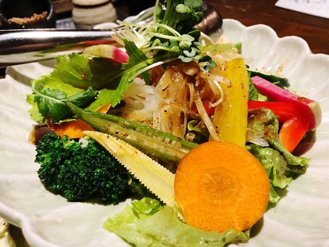 んまいか(:3 っ) Vegetarian Food Yummy Yumyum( ˙༥˙ ) Freshness Food Healthy Eating Ready-to-eat Vegetable No People Day