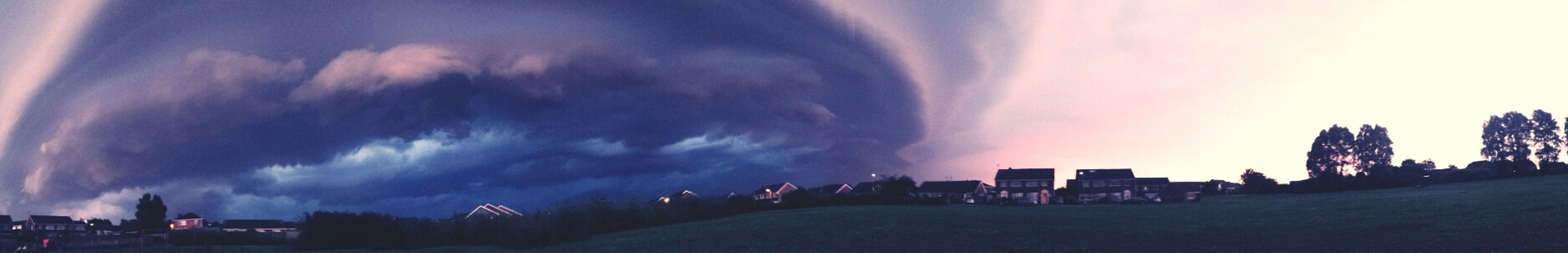 Sunset Silhouettes Storm Clouds Weatherchange First Eyeem Photo #panorama