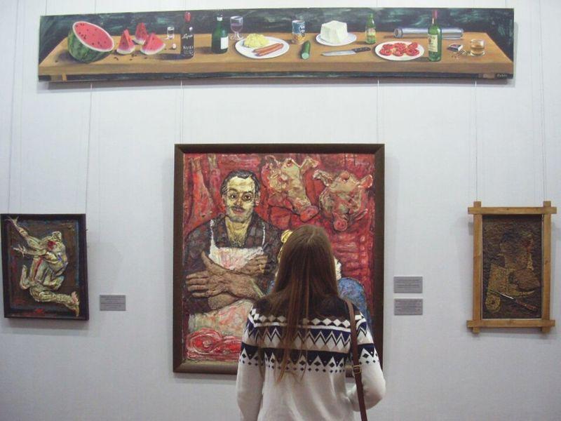 I'm starving! 2015  Autumn Holidays Russia Tatarstan Kazan Art Food