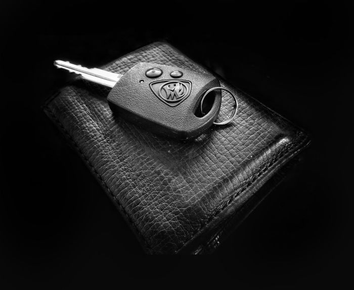 Make the rest of your life, the best of your life.. Blackandwhite Studio Shot Blackandwhite Photography Black & White Creative Photography Carkeys Wallet WalletLeather Photography Black Background Quotes