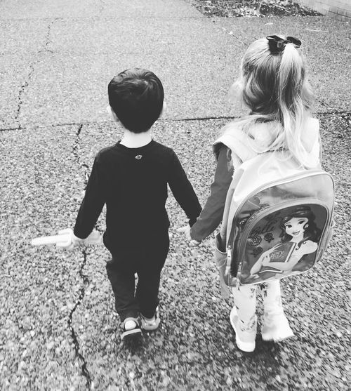 Black And White Friday Life Getty Images My Girl Love ♥ Granddaughter Scenics Outdoors Blayklee Bean Blayklee & Tyler Tyler Torn Tyler Torn Tyty. My Little Man!  Walking To School  First Day Of School Kindergartner Grandchildren's Love Holding Hands On The Way Big Kids Big Day......... Growth Environment EyeEm Kids EyeEm Gallery