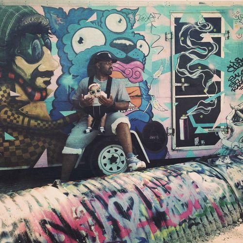 The Portraitist - 2014 EyeEm Awards Portrait Street Art Love