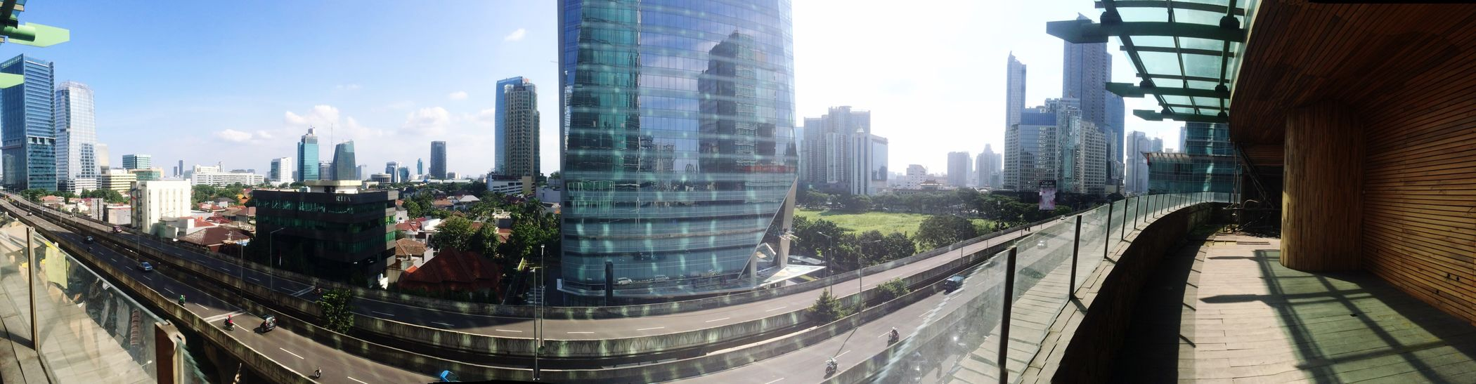 City Architecture Skyscraper Built Structure Building Exterior Cityscape Growth Sunlight Day Outdoors River No People Sky Urban Skyline Tree Downtown District Office Park
