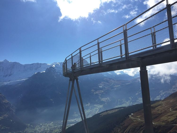 Skywalk Mountain Sky Mountain Range Landscape Outdoors Summer Beauty In Nature No Filters Or Effects Art Is Everywhere Dutch Photographer Eye Em Landscape-Collection No Filter, No Edit, Just Photography EyeEmNewHere Iphoneonly Swiss Alps I LOVE PHOTOGRAPHY Switzerlandpictures Nature I Love Switzerland !!! First Berner Oberland The Architect - 2017 EyeEm Awards The Great Outdoors - 2017 EyeEm Awards Neighborhood Map Live For The Story Sommergefühle The Great Outdoors - 2018 EyeEm Awards