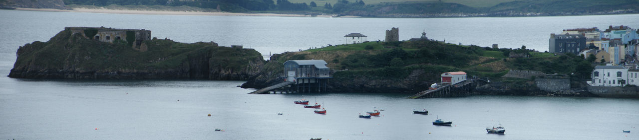 Adult Day Large Group Of People Lifeboat Station... Nautical Vessel Outdoors Pembrokeshire Pembrokeshire Coast Pembrokeshire Coastal Path People RNLI Sea St Catherine's Fort St Catherine's Island Tenby Tenby Harbour Water