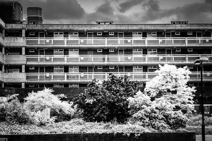 Big Dreams. London Architecture Black And White