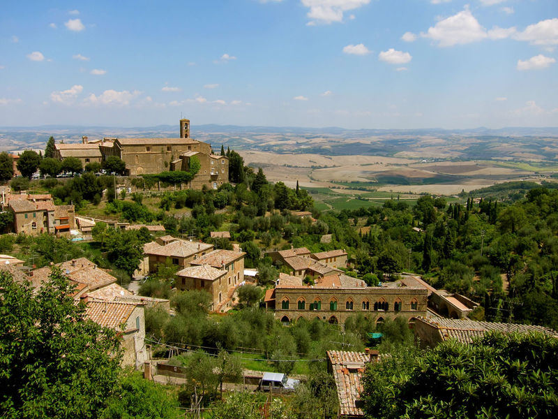 Montalcino. Toscana Architecture Beauty In Nature Building Exterior Built Structure Cityscape Cloud - Sky Day Landscape Nature No People Outdoors Sky Tree