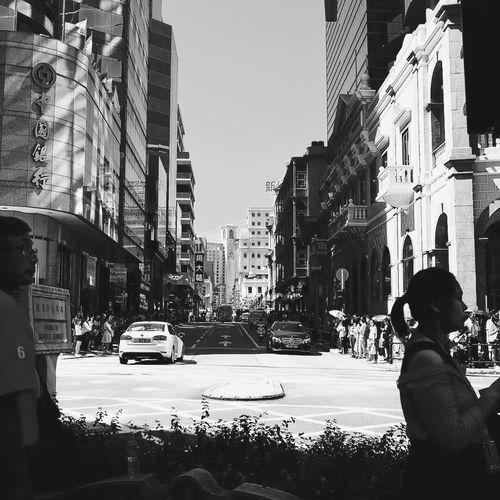 澳门 Macau, China Car City Mode Of Transportation Transportation Street