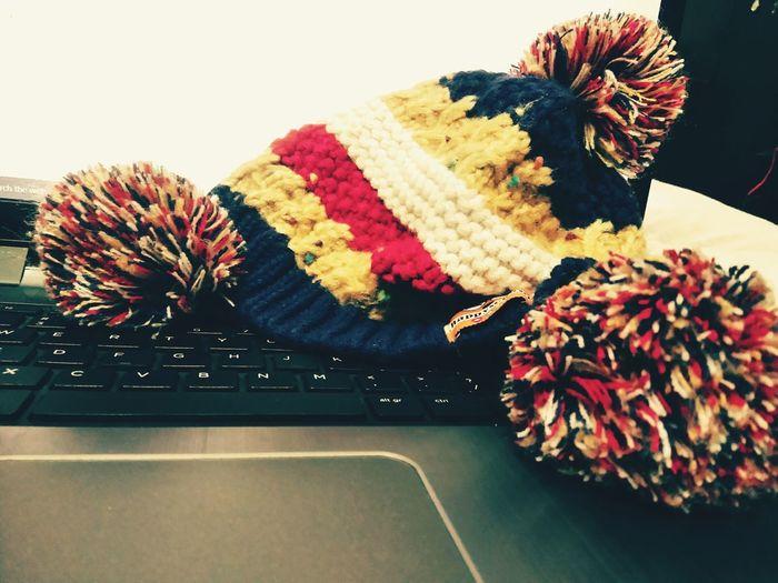 Cozy Winter Cap Closeup