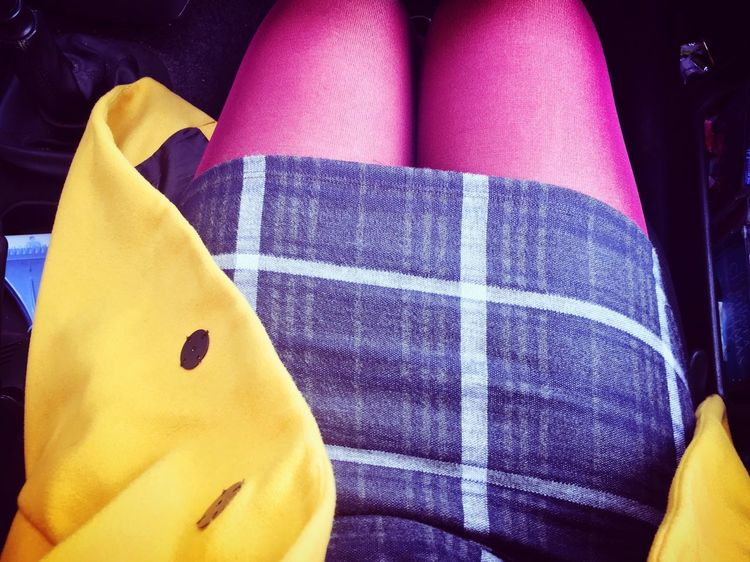 Colour Photography Bold Thighs Brightcolours Real People