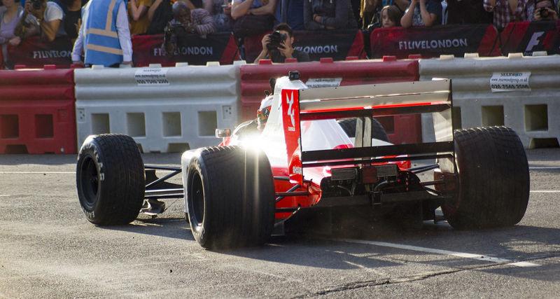 #F1LIVELONDON F1 Fernando Alonso Large Group Of People McLaren Real People Senna Sports Race Transportation