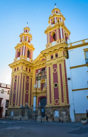 Candy Candylicious Architecture Architecture_collection Colors Colorful Church Sevilla Seville