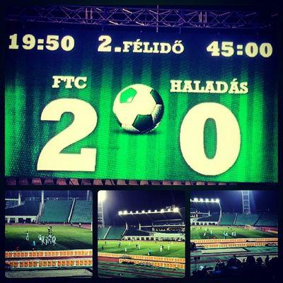 Fradi Ferencváros FTC  Zöldfehér Hajrafradi Budapest Puskas Stadium Football Gameday Match Win Goal
