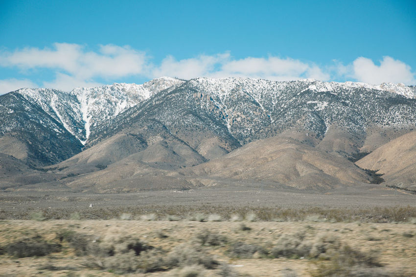 Arid Climate Beauty In Nature Blue Sky CA-190 Cloud - Sky Coso Day Death Valley Desert Landscape Mountain Mountain Range Mountains Nature Nature No People Olancha Outdoors Road Roadtrip Scenics Sky Snow Tranquil Scene Tranquility