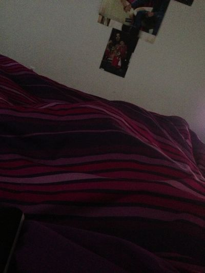 I don't wanna leave this bed.