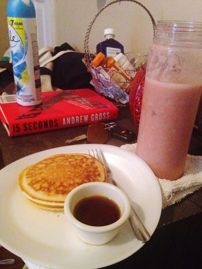 Breakfast This Morning Breakfast The EyeEm Breakfast Club Smoothie Healthy Pancakes Glitch Deceptively Simple