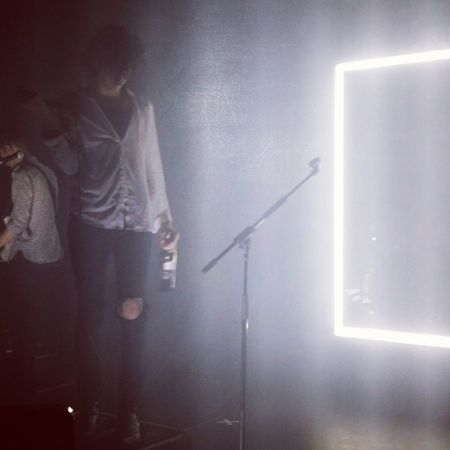 The 1975  Matty Healy Prague Concert with lovely Hann in the background ?