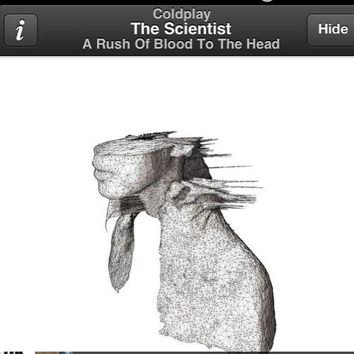 """Nobody said it was easy.."" Thescientist Alltimefavorite Song"