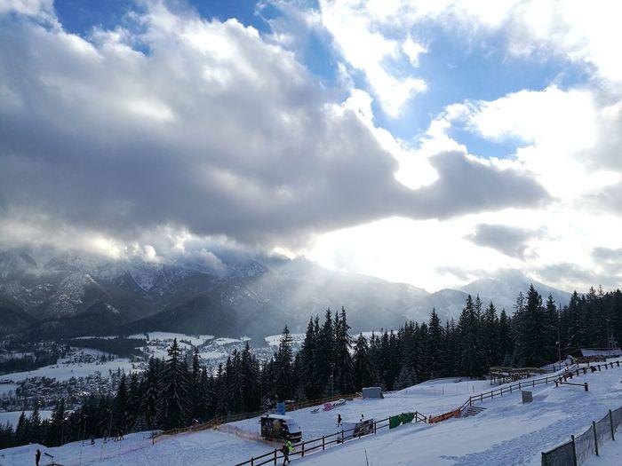 Snow Winter Cloud - Sky Mountain Mountain Range Landscape Nature Outdoors Day