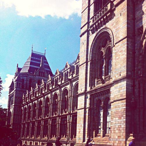 London Nationalhistorymuseum Building