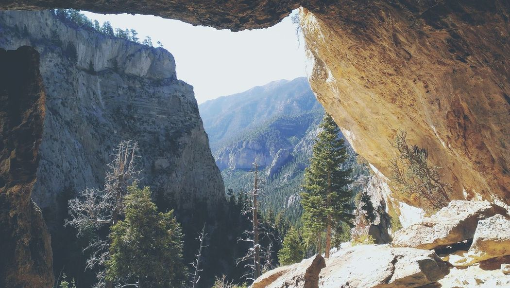 Cave Hiking Outdoors Nature Mountains