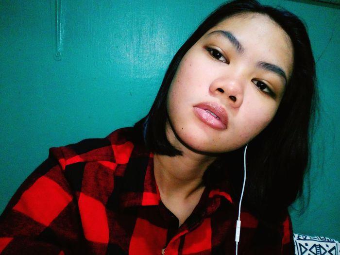Portrait Young Women Headshot Beautiful Woman Studio Shot Close-up Posing Nose Ring Pierced Pretty