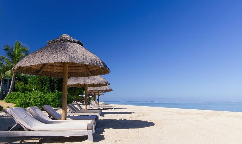 Beach Beautiful Beautiful Nature Blue Blue Sky Landscape Mauritius Sand Sand & Sea Scenics Sea Seascape Seaside Sky Summer Summer Views Tranquil Scene Tranquility Travel Travel Destinations Warm Warm Day