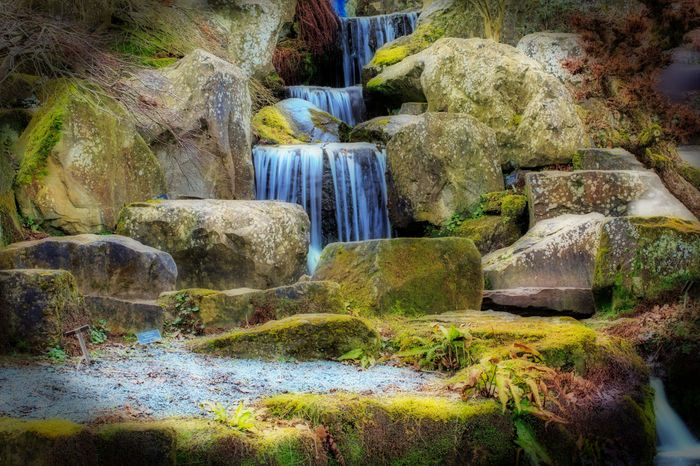 Blurred Motion Waterfall with Orton Effect Beauty In Nature Blurred Motion Cascade Day Mystical Forest Nature No People Orton Effect Outdoors Slow Shutter Tranquility Waterfall Waterfall_collection Wisley
