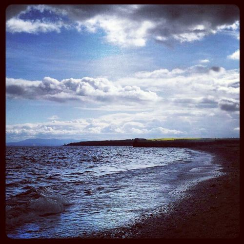 'Blue' Ravenscraig Fife  Scotland Today cloudatlas Cloudreality Clouds Cloudporn skyporn skysnappers sky Beach Seascape Seaview sea Instagrampolis instamob insta_underdog instahub Photography