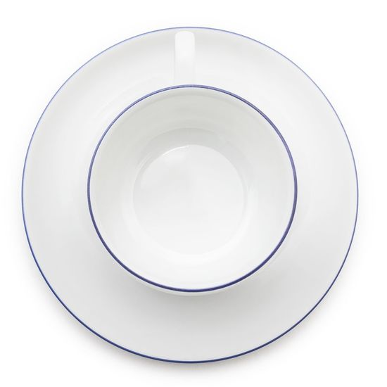 Directly above shot of empty plate