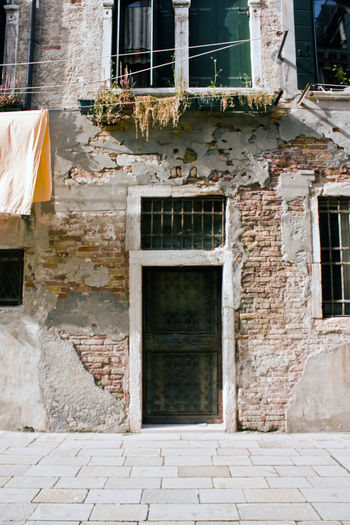 Architecture Door House Old Porta Venezia Unstaged Venetian Venice