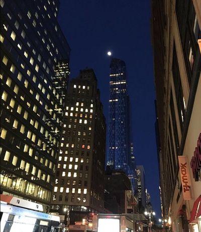 Midtown Manhattan Hells Kitchen  New York City 57thstreet