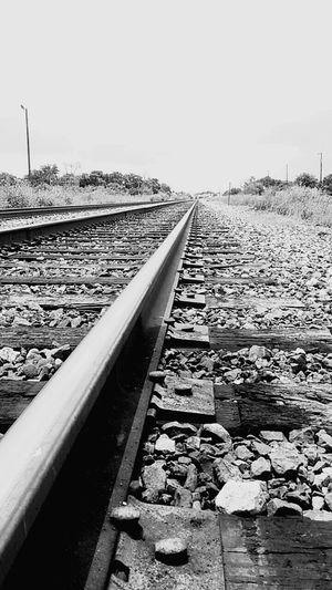 Blackandgrey Texas Skies Railroad