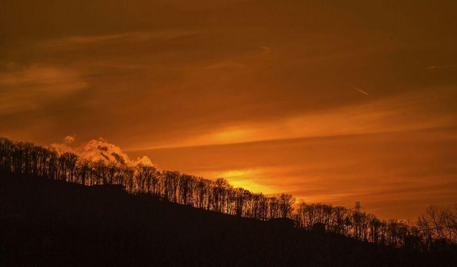 North Carolina sunset.